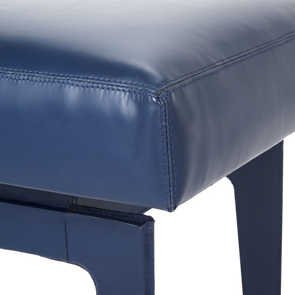 Dewey Leather Stool, 3 colors.