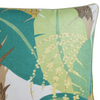 Tropical Palm Pillow, Green