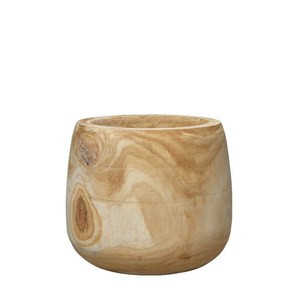 Summit Natural Wood Vases, 3 sizes