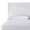 Altona Bed, White Lacquer