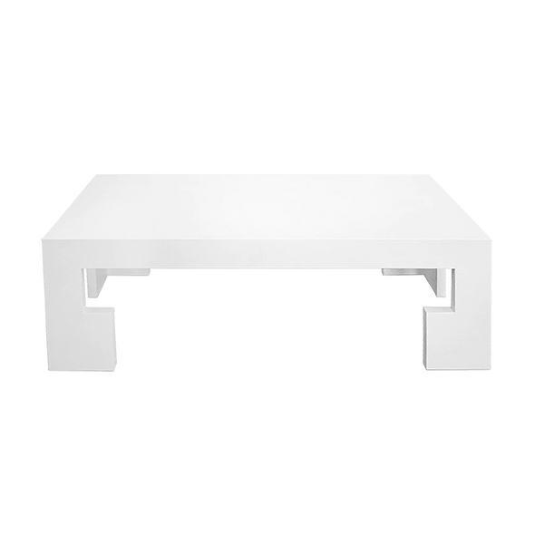 Baldwin Cocktail Table, White Linen