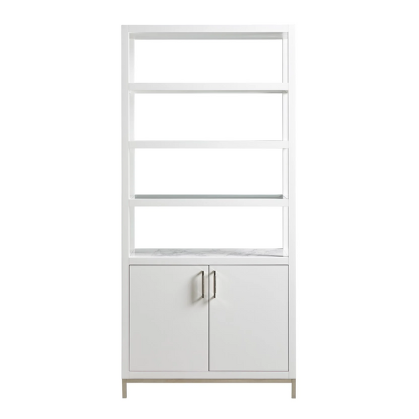 Barefoot Bookcase, White