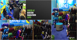 Get your OOFOS Limited Edition Boston Shoe at the Boston Marathon!