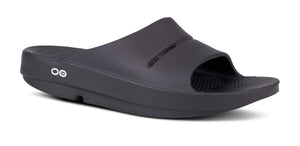 Men's OOahh Slide Sandal - Black - OOFOS