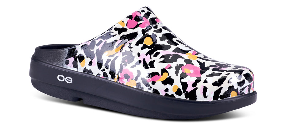 Women's OOcloog Limited Edition Clog - Tiger Lily