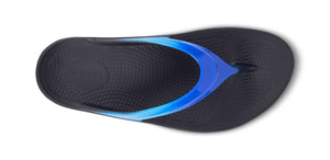 Women's OOlala Luxe Sandal - Blue Jay - OOFOS