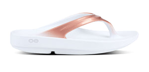 Women's OOlala Sandal - White & Gold