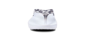 Women's OOlala Geo Sandal - White & Grey