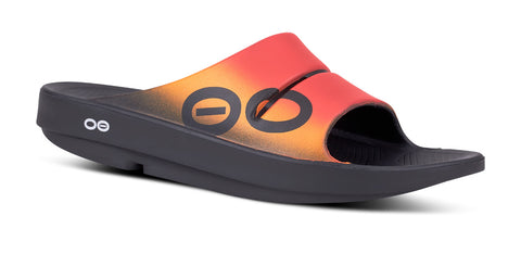 Men's OOahh Sport Slide Sandal - Flame