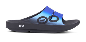 Men's OOahh Sport Slide Sandal - Wave - OOFOS