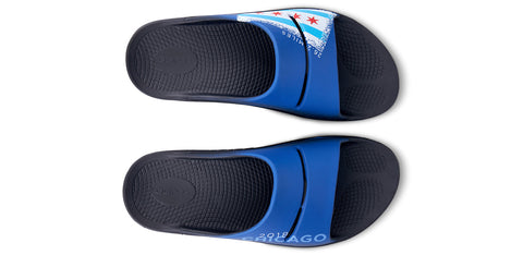 Men's OOahh Sport Slide Sandal - Chicago Limited Edition Marathon 2018 - OOFOS
