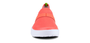 Women's OOmg Low Shoe - White & Coral