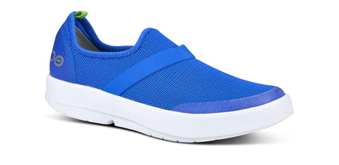 Women's OOmg Low Shoe - White & Blue