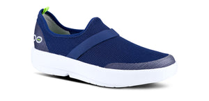 Women's OOmg Low Shoe - White & Navy