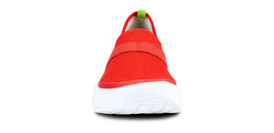 Women's OOmg Low Shoe - White & Orange