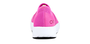 Women's OOmg Low Shoe - White & Pink