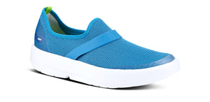 Women's OOmg Low Shoe - White & Teal