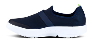 Women's OOmg Fibre Low Shoe - White & Navy