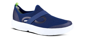 Men's OOmg Low Shoe - White & Navy