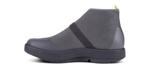 Women's OOmg Fibre High Shoe - Black & Gray - OOFOS