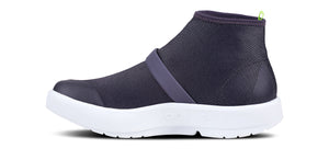 Women's OOmg Fibre High Shoe - White & Slate Purple