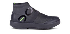 Men's OOmg Fibre High Shoe - Black & Gray - OOFOS