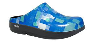 Women's OOcloog Geo Clog - Blue *Extremely Low Quantity*