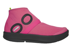 Women's OOmg High Shoe - Black & Pink