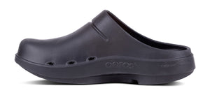 Men's OOcloog Project Pink Clog - Black - OOFOS