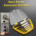 5/6/8PCS Damaged Screw Extractor Drill Bit set Broken tap extractor broken screw removal set speed out damaged screw extractor