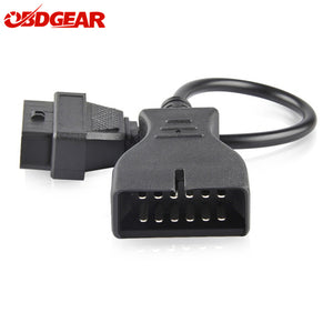 GM12 OBD2 Adapter Diagnostic Cable GM12 Pin OBD2 to 16 pin OBDII Diagnostic Connector For GM12 Pin OBD2 Adapter Extension Cable