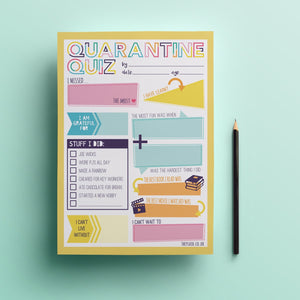 Kids Quarantine Quiz