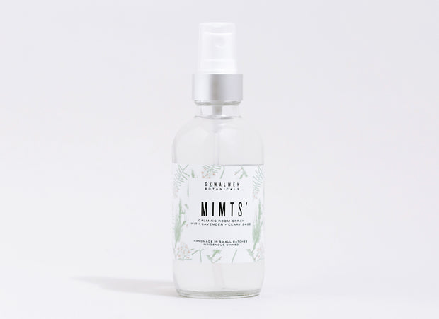 Mimts' Calming Room Spray (with Lavender + Clary Sage) *In winter, available to Coastal BC regions only
