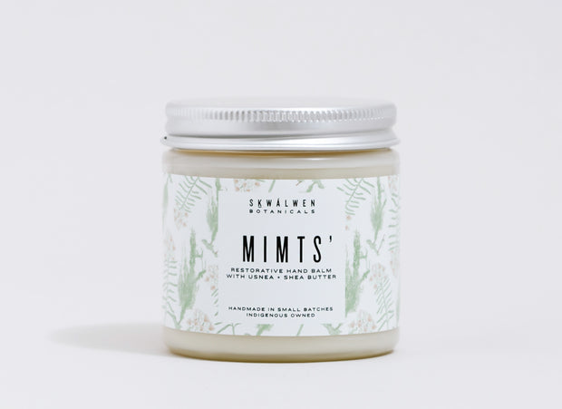 MIMTS' RESTORATIVE HAND BALM (With Usnea + Shea Butter)