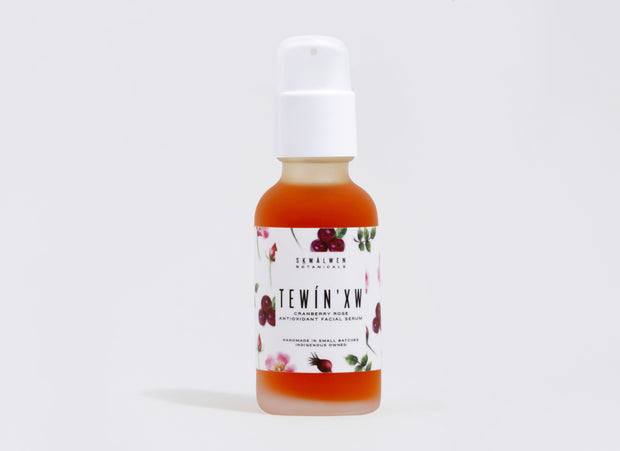 Tewín'xw Cranberry Rose Facial Serum