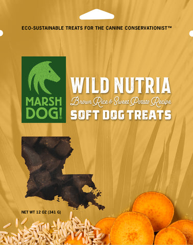 Wild Nutria Brown Rice & Sweet Potato Recipe | Soft Dog Treats