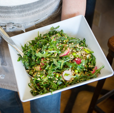Wheatberry Arugula Salad