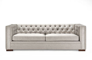 Montreal 3 Seater-Pebble Grey
