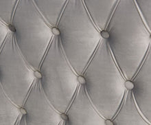 Load image into Gallery viewer, Mayfair Velvet Tufted Snuggle Chair Silver