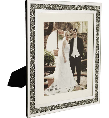 Desktop Silver Photo Frame 12x10