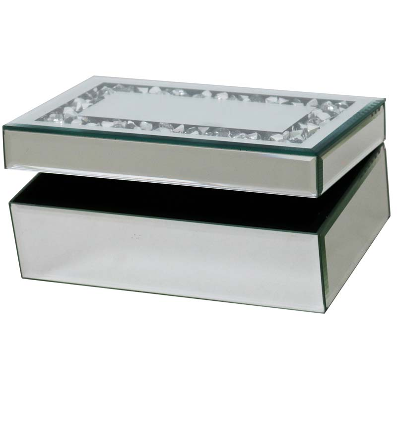 Mirrored Jewellery Box One drawer
