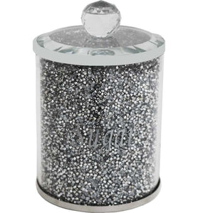 Crystal Sugar Canister