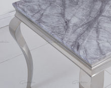 Load image into Gallery viewer, Louis GREY Marble Dining Table 140cm x 80cm
