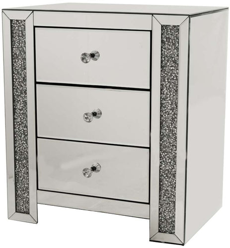 3 Drawer Bedside