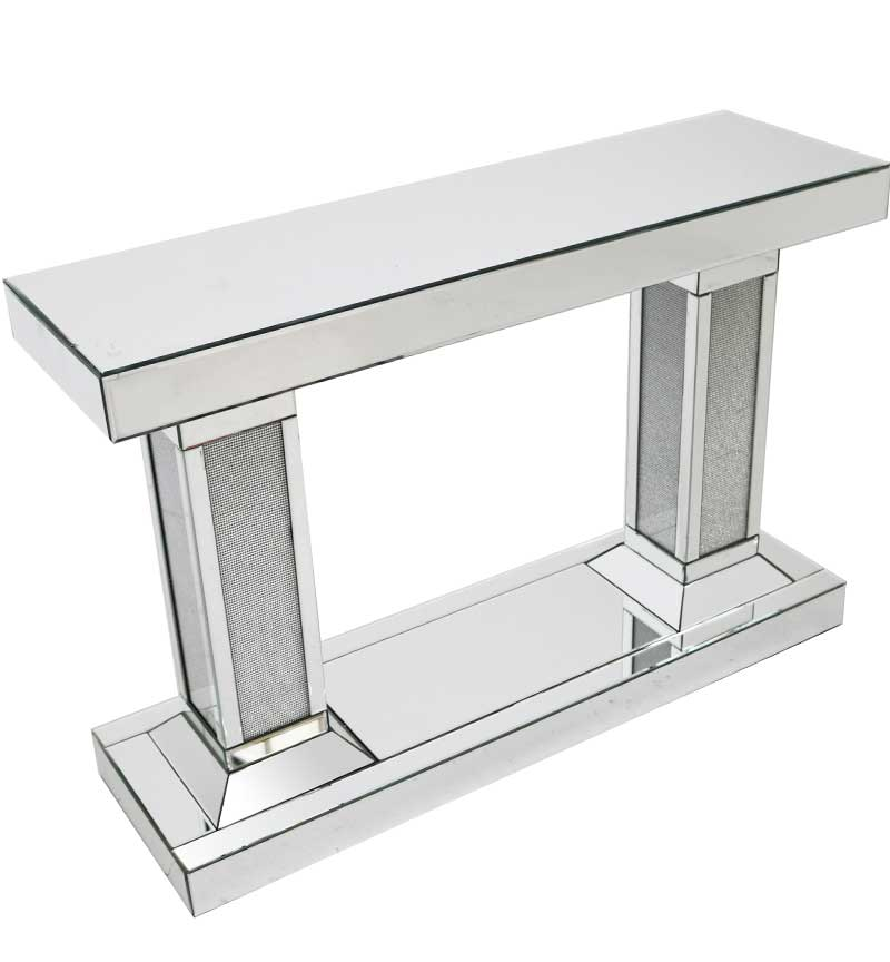 Console Mirrored Table