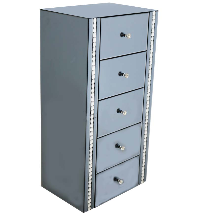 Smoke 5 Drawer Chest