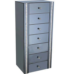 Smoke 7 Drawer Chest