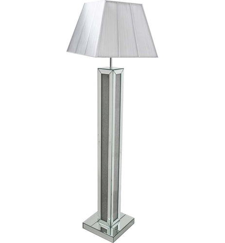 Mirrored Floor Lamp