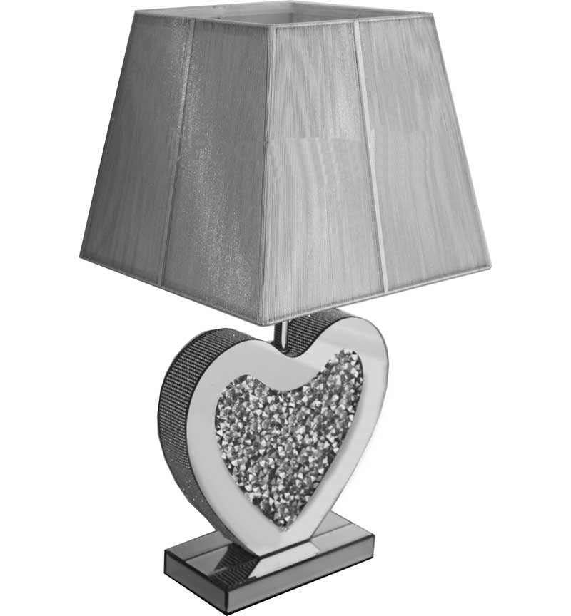 Heart Table Lamp Large