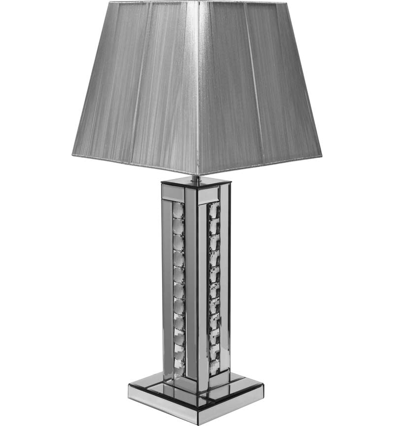 Table Lamp in Silver